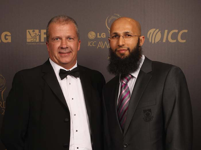 Amla was in contention for the People's Choice Award. (Photo by Tom Shaw/Getty Images)