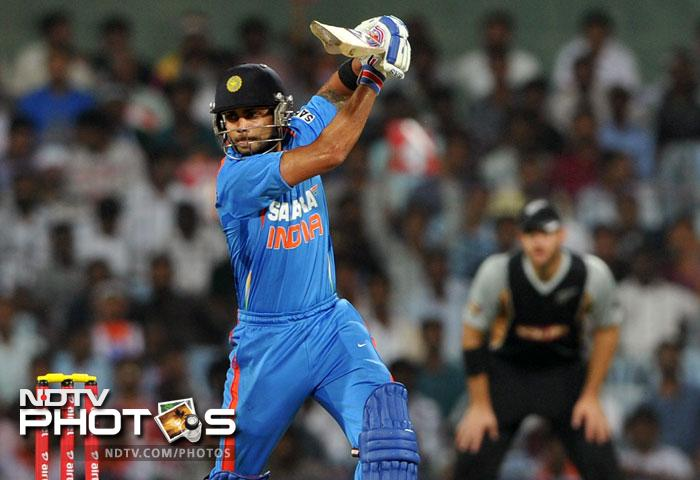 <b>Virat Kohli (India):</b> He has been hailed as the next big thing in Indian cricket. A big match player and match-winner, Kohli has proven time and again that he is India's saviour in times of trouble. An average of 66.65 in from 31 games has helped him reap 1733 runs and he certainly deserves a place in the ODI Team of the year.