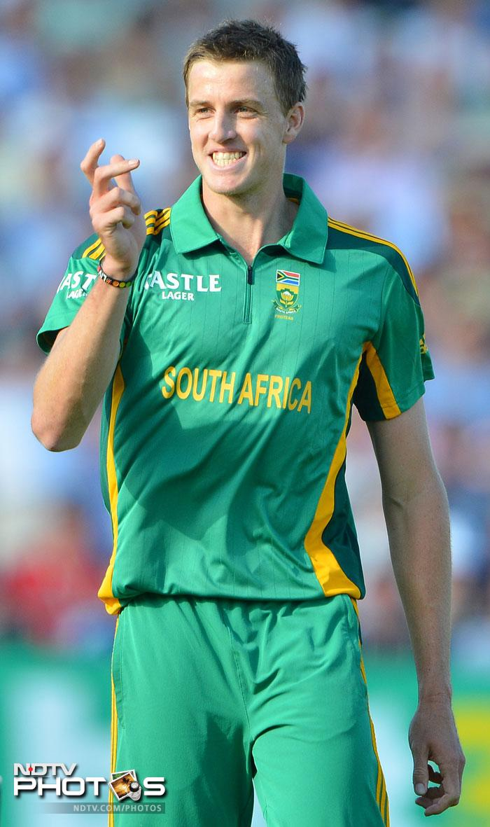 <b>Morne Morkel (South Africa):</b> The South African speedster has made use of his limited opportunities as he picked up 20 wickets from 10 matches in the last one year at 20.40 runs per wicket. He is selected as the first choice pacer in this world eleven.