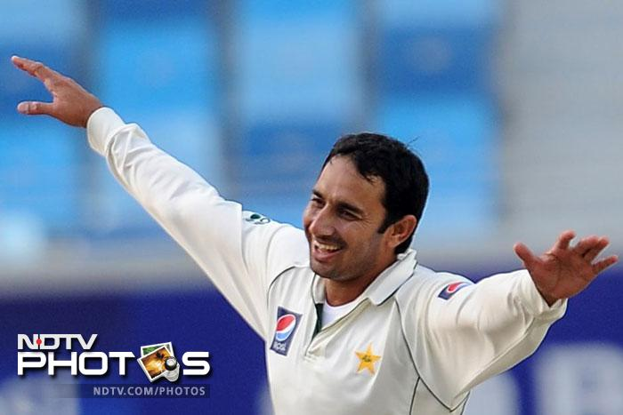 <b>Saeed Ajmal (Pakistan):</b> He might not have made it to the list of players nominated for ICC Awards 2012, but Pakistan spinner Saeed Ajmal had a tremendous season. In 12 Tests, he picked 72 wickets. He is the lone spinner in the list but the kind of form he is in, he doesn't even need a partner.