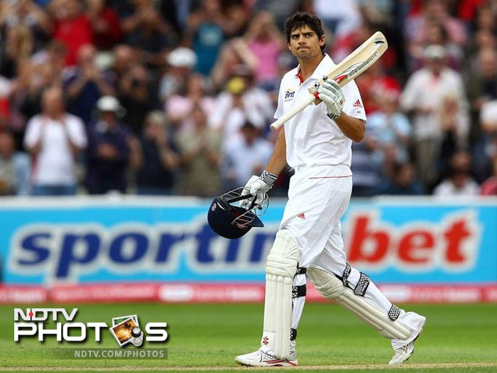 <b>Alastair Cook (England):</b> England cricketer Alastair Cook had an impressive season with the bat in the last one year. He played 12 Test matches and scored 1005 runs which also include his 294 vs India. His another century (115) came against India. He could have easily taken his tally of centuries to four had he not been dismissed on 94 twice against Pakistan and Sri Lanka.