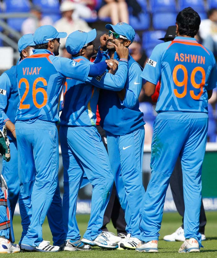 With the run out of Mitchell Starc and the final wicket of Adam Voges, India completed a 243-run thrashing of Australia. A win which will boost their morale going into the first match of the tournament against South Africa on June 6, Thursday.