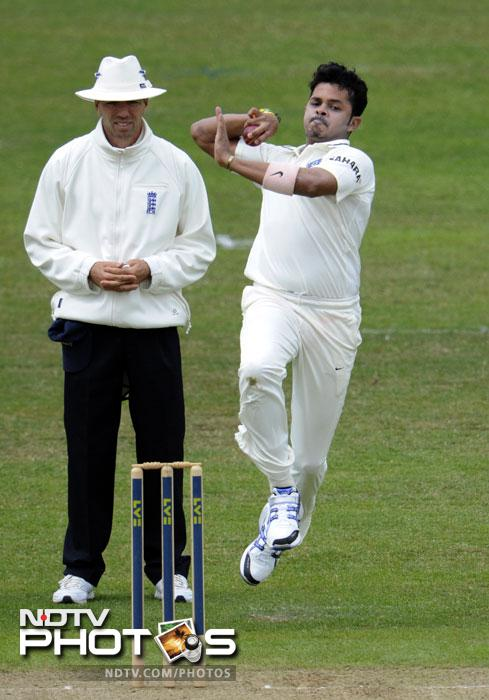 <b>Sreesanth:</b> NDTV cricket experts Sunil Gavaskar and Michael Holding think he is just the right man to replace Zaheer Khan if he fails to make it to the second Test playing XI because of his troubling hamstring. Needless to say that Sreesanth is fit to play but can he keep his temper in check?