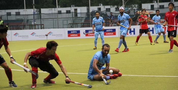 Yusof Affan completed the rout in the 65th minute to make it 6-1 for India. Overall, India's forward line led by Ramandeep (center) kept the Koreans frustrated and jaded with continuous attack. India's win was enough for them to make the final of the Sultan of Johor Cup hockey. India took their unbeaten streak to 4 consecutive games in the tournament.