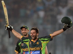 Asia Cup: Boom Boom Shahid Afridi takes Pakistan to thrilling one-wicket win over India