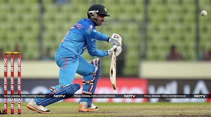 Ambati Rayudu took his chance and proved his worth in the Indian middle-order by scoring a half-century (58).