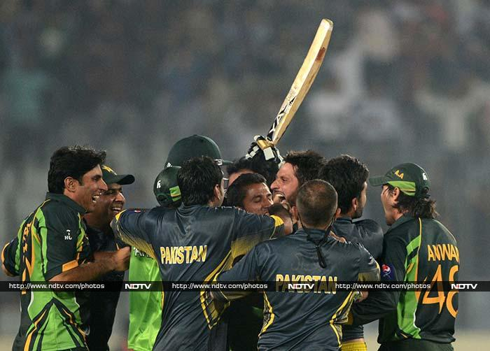Riding on Afridi's heroics, Pakistan have taken the top spot in the points table (9 points from three matches) and look certain to make it to the final once again.
