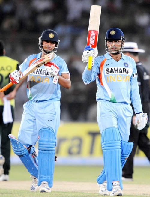 During the last Asia Cup, India and Pakistan played twice against each other.<br><br>In the first game, Pakistan had elected to bat and made 299 runs. It was Shoaib Malik's 125 runs and Younus Khan's 59 runs that took Pakistan to that total. But when you have an on-fire Virender Sehwag in the opposition, you never know what total will be sufficient. Sehwag blasted 119 runs. Suresh Raina clobbered 84 runs. Later Yuvraj and Dhoni took India ahead but Yuvraj faltered at the threshold. Skipper finished it off with a six-wicket win.<br><br>The two archrivals met again in the Asia Cup final. And Younus Khan made sure this time he left no stone unturned. India had won the toss and chose to bat. Every player chipped in India's total of 308 runs. Enough it wasn't. Younus Khan slammed 123 runs and later Misbah-ul Haq took Pakistan to the Asia Cup trophy with unbeaten 70 runs.