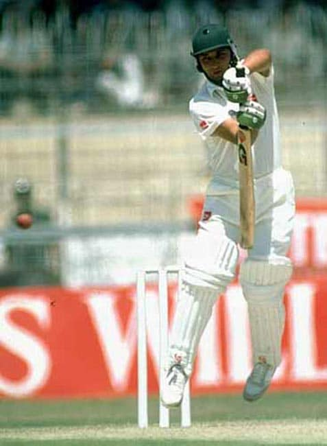 <b>March 20, 1987 in Hyderabad:</b> India won after a tied game<br><br> Pakistan required two runs to win off the last ball to achieve a modest 213-run target, but Abdul Qadir was run out attempting a second run in the third game of a six-match series. India (212-6) and Pakistan (212-7) finished at the same score, but the hosts were declared winners by virtue of losing fewer wickets.