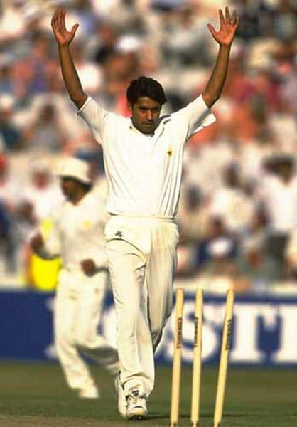 <b>October 25, 1991 in Sharjah:</b> Pakistan won by 72 runs<br><br> After Pakistan had posted a competitive 262 in the Wills Trophy final, they found a hat-trick man in fast bowler Aaqib Javed who sliced through the Indian batting line-up to finish with 7-37 off 10 overs, then the best figures in One-Day Internationals. His hat-trick victims were Ravi Shastri, Mohammad Azharuddin and Sachin Tendulkar, all lbws, as India were bowled out for 190.