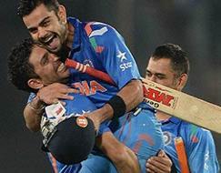 Photo : World T20: Virat Kohli helps India storm into final