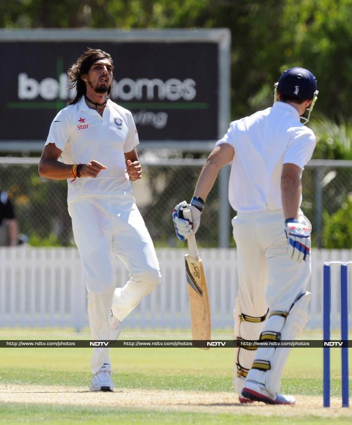 Ishant Sharma also bowled well and claimed two wickets.