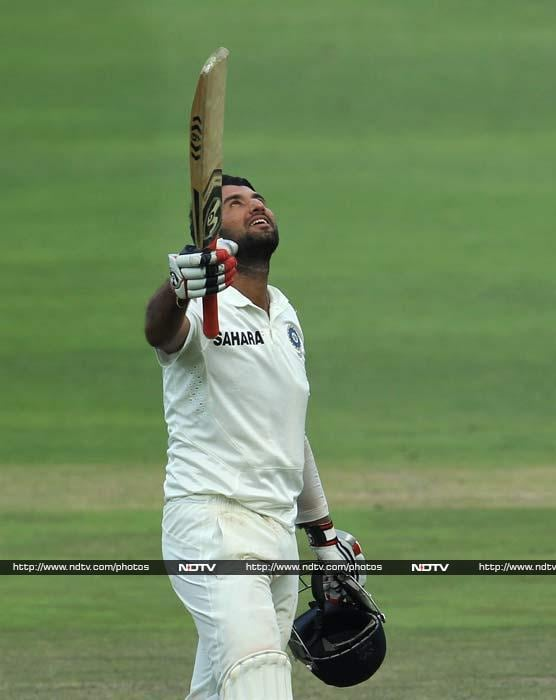 Cheteshwar Pujara hit a confident 135* on Day three of the opening Test against South Africa. <br><br> He played a brilliant knock on a pacey Johannesburg wicket to put India in command with a 320-run lead and with eight wickets still in hand.