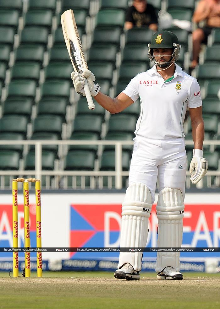 Petersen reached his fifty and remained South Africa's best hope as even Hashim Amla fell to Mohammad Shami. <br><br>The tourists ended the day on 138/2, with 320 runs still left.