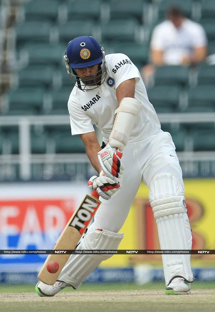 It was Zaheer Khan who whacked the ball with aggressive intent towards the end to propel India to 421. <br><br>He remained unbeaten on 29 off 31, hitting three fours and two sixes.