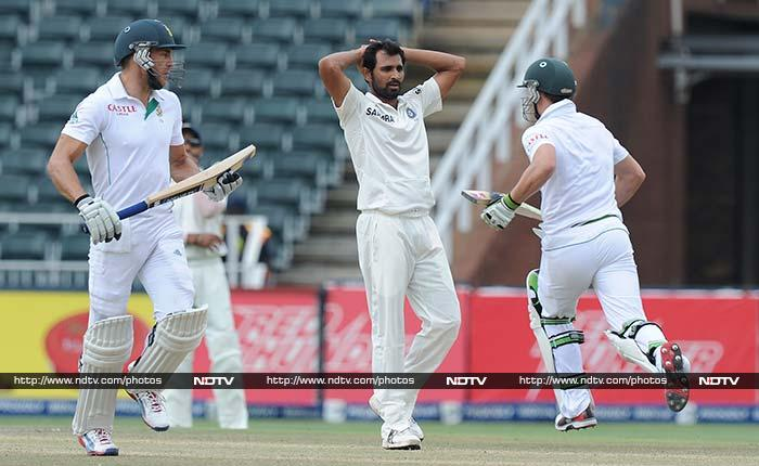Both batsmen were forceful against every bowler used against them.