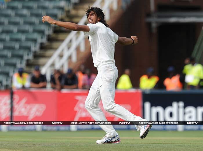 Indian pacers dominated Day two's last session to give the tourists an edge in the opening Test against South Africa. <br><br> A look at the highlights from the day. <br><br>Images courtesy: AFP and AP