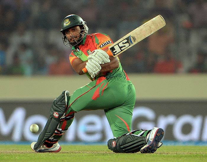 Mahmudullah (33 not out off 23 balls) helped Bangladesh post 138/7 in 20 overs. Amit Mishra finished with figures of 2/15, Ravichandran Ashwin 3/26.