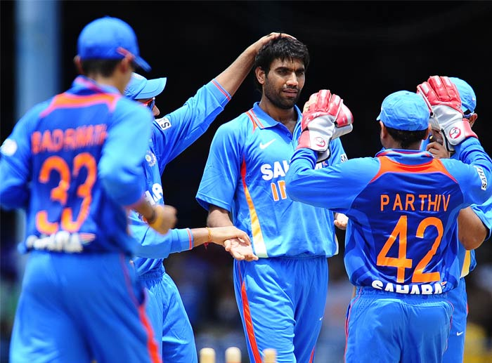 Munaf Patel followed it up by getting rid of Andre Fletcher in the next over to put West Indies on the back-foot from which they could just not recover.