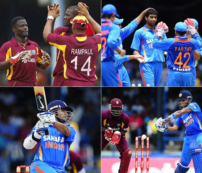 The start of the opening match of India's tour to the West Indies did not begin well for stand-in skipper Suresh Raina. He lost the toss and was asked to bat but his openers were soon removed by Darren Sammy.