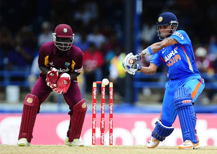 Subramanium Badrinath was the only saving grace for the visitors as he held the innings together and scored 43 off 37 balls which included five boundaries.