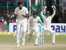 Photo : 1st Test, Day 4: Record-Breaker R Ashwin Leaves New Zealand Facing Uphill Task