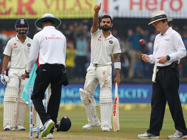 Indore Test: Virat Kohli's Unbeaten Ton Puts India In Control On Day 1