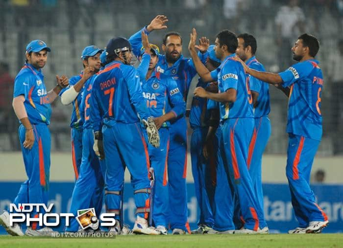 India's last encounter with the Sri Lankan team was on March 13 in Mirpur as part of the Asia Cup. MS Dhoni and his side claimed the match by 50 runs. Here is a recap of the tie...
