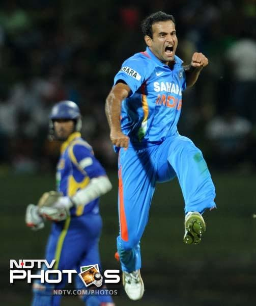 The real hero of the day though was Irfan Pathan. He took his second five-wicket haul to leave Sri Lanka reeling.
