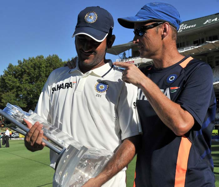 Speaking of meteoric rise, former coach Gary Kirsten will also not be seen in his trademark dark blue.