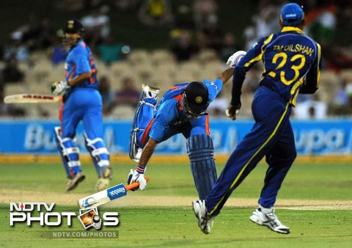 There were certain contributions which looked threatening but a number of run-outs cost India dear.