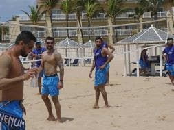 India in West Indies: Virat Kohli And Team Enjoy A Taste of the Caribbean