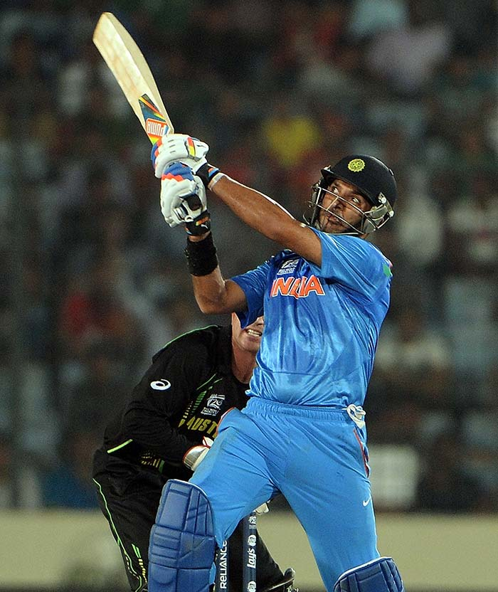 The big six-hitting ability with panache also returned as a vintage Yuvraj turned back the clocks.