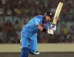 Photo : World Twenty20: Yuvraj Singh, spinners help unbeaten India rout Australia
