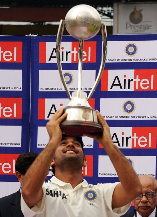 This is the second Test series win over Australia under MS Dhoni's captaincy. Last Test series win came in 2008 when Anil Kumble announced his retirement in the middle of the series and Dhoni took over as the Test captain. He had then lifted the trophy with Anil Kumble in Nagpur.