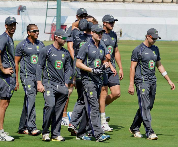 Australia are down but one can never count them out. Michael Clarke has ably led his side with stellar performances but would want a team effort in Hyderabad. A few changes will definitely be on the cards for the visitors with an added spinner a possibility. (Photo credit: PTI)