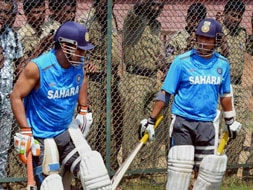 India, Australia practice ahead of the Hyderabad Test