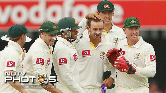 <b>Nathan Lyon</b><br><br>Only 7 Tests old, Nathan Lyon has been tipped to entangle Sachin Tendulkar in his spin web and Australians know that it may take more than just the right line and length to get the better of the Master Blaster.