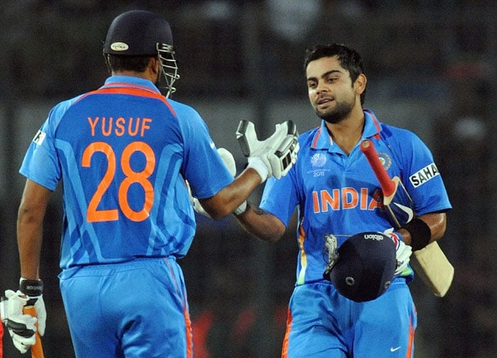 India ended the innings with 370 runs on the board for the loss of 4 wickets. (AFP Photo)