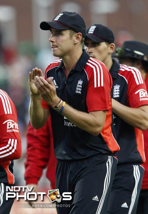 England would have been happy with the eventual score of India as they were all out at 165.