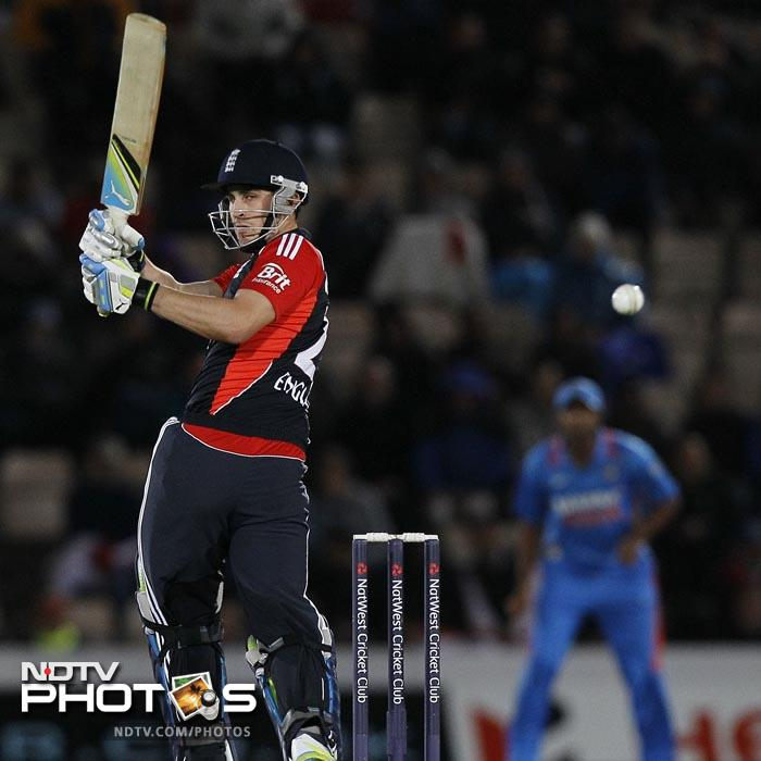 Kieswetter (46 off 25 balls) gave his team a blazing start in the run-chase. (AP Photo)