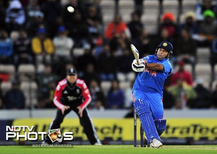 Parthiv gave India a swift start after England opted to field in the rain-reduced match. (AFP Photo)