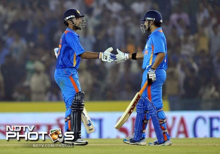 Rahane struck 91 off 104 balls and forged a 111-run partnership with Gambhir for the 2nd wicket. Sadly, he missed out on his maiden international ton.
