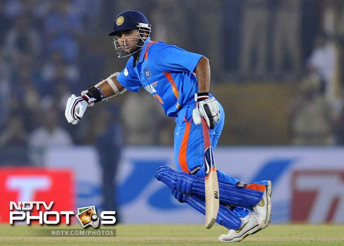 The Indian openers finally found form and gave India a great start with a 79-run stand.