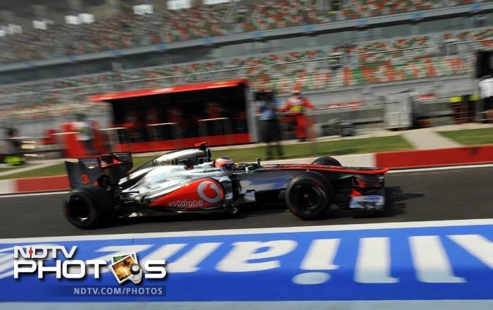 Jenson Button did not have a good outing by his standards and finished off seventh in the standings.