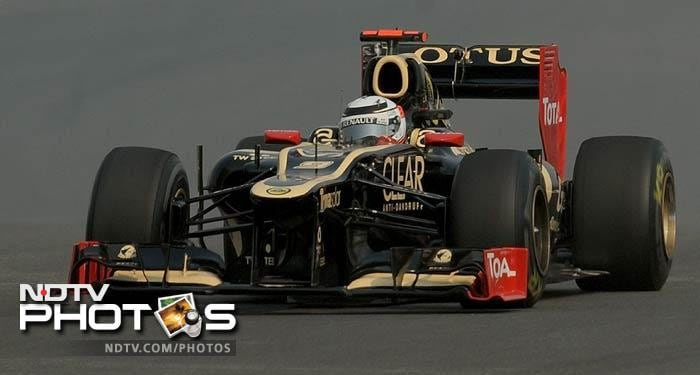 Kimi Raikkonen gave Team Lotus cause to be satisfied coming in fifth in the practice session which would be a confidence booster going into the qualifiers on Saturday.