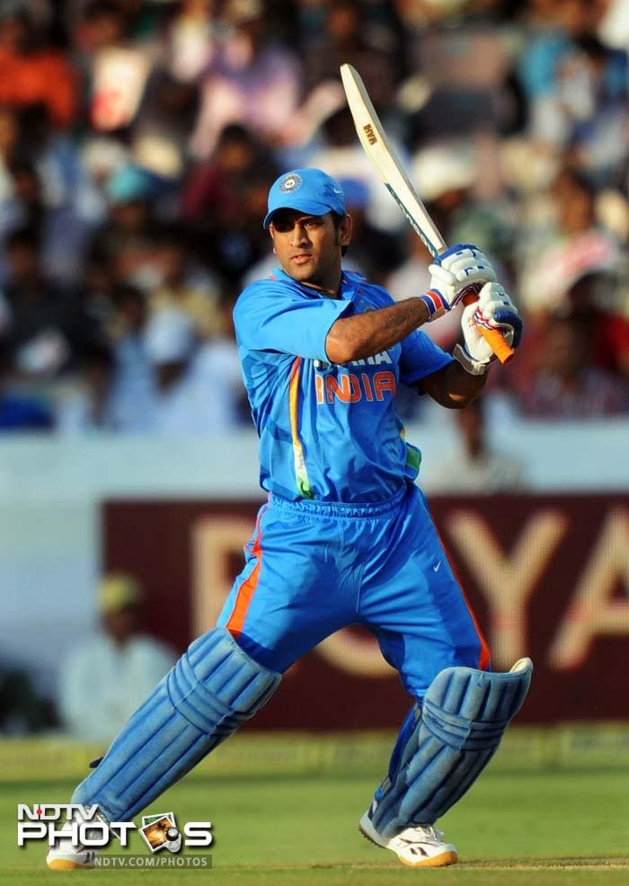 <b>MS Dhoni:</b> The Indian skipper played second fiddle to Raina until the latter was at the crease but took charge after the UP batsman was sent back to the pavilion.