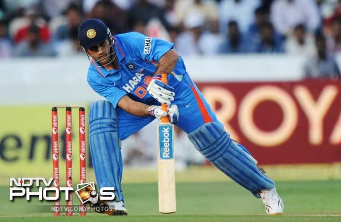 Dhoni's knock of 87 not out off 70 balls, with 10 fours and a six, pushed India's score to 300, which looked far-fetched till mid-innings. He ensured England got a daunting target to chase.