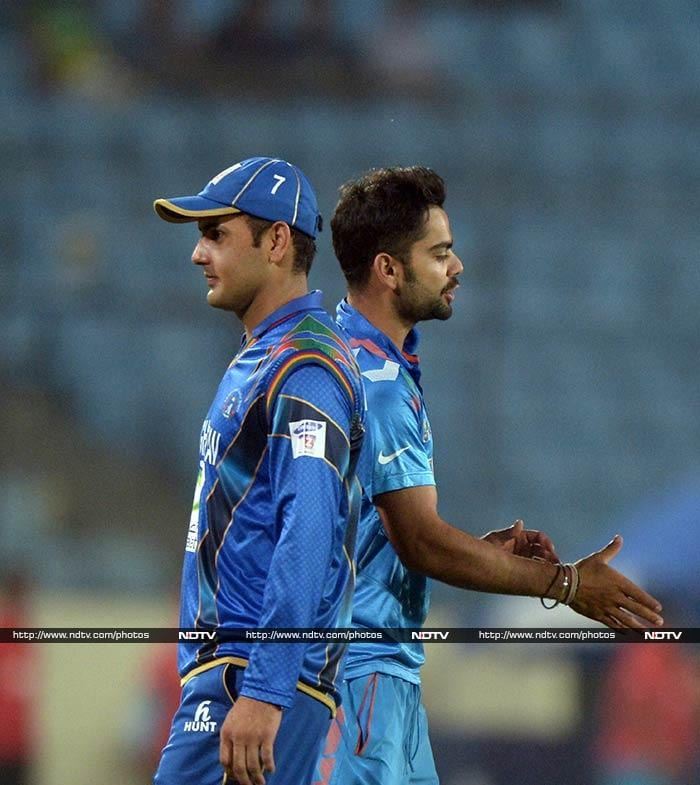 India had no trouble however as the team won the match by 8 wickets in the 33rd over.