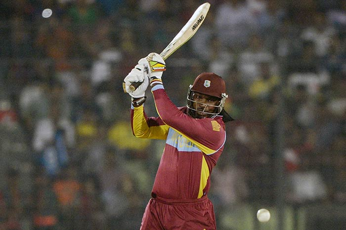 India opted to bowl earlier in the day and Chris Gayle's threat loomed large.